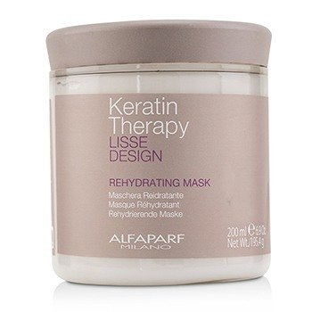 AlfaParf Lisse Design Keratin Therapy Rehydrating Mask 200ml/6.9oz