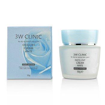 Купить Excellent White Крем (Интенсивное Отбеливание) - для Сухой и Нормальной Кожи 50g/1.7oz, 3W Clinic