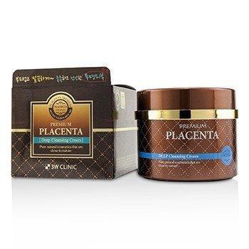 Image of 3W Clinic Premium Placenta Deep Cleansing Cream 300ml/10oz