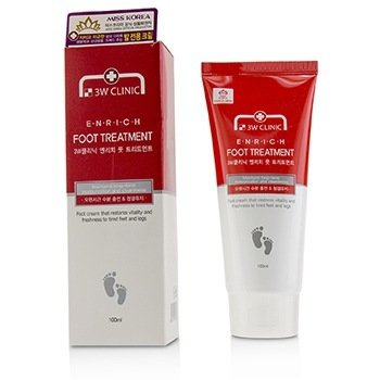 Image of 3W Clinic Enrich Foot Treatment 100ml/3.3oz