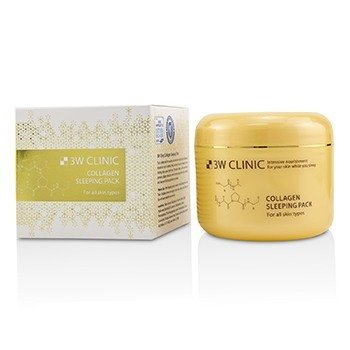Image of 3W Clinic Collagen Sleeping Pack 100ml/3.3oz