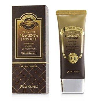 Купить Premium Placenta Sun BB Крем SPF 40/ PA+++ 70ml/2.3oz, 3W Clinic