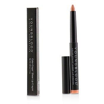 德国活力素 Youngblood Color Crays Matte Lip Crayon - # Laguna Glow 1.4g/0.05oz