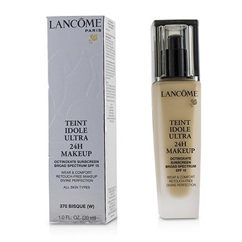 Lancome Teint Idole Ultra 24H Wear & Comfort Fdn SPF 15 - # 370 Bisque (W) (US Version) 30ml/1oz