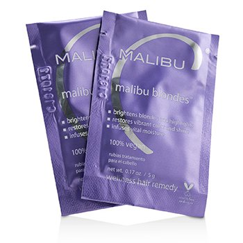Malibu C Malibu Blondes Wellness Hair Remedy 12x5g/0.17oz