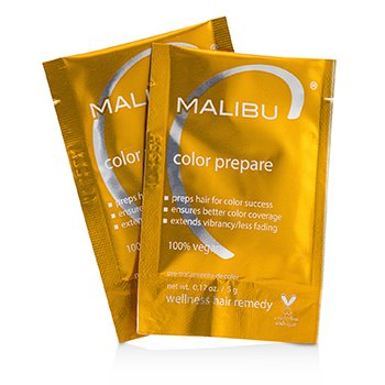 Malibu C Color Prepare Wellness Hair Remedy 12x5g/0.17oz