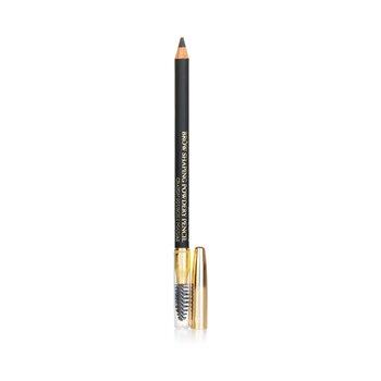 Купить Моделирующий Пудровый Карандаш для Бровей - # 10 Black 1.19g/0.042oz, Lancome
