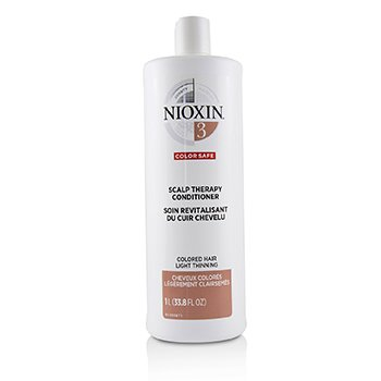 Купить Density System 3 Scalp Therapy Conditioner (Colored Hair, Light Thinning, Color Safe) 1000ml/33.8oz, Nioxin