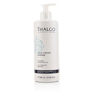 岱蔻儿 Thalgo Cold Cream Marine 24H Hydrating Body Milk - For Dry  Sensitive Skin (Salon Size) 500ml/16.9oz