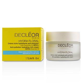 思妍丽 Decleor Hydra Floral Neroli Anti-Pollution Hydrating Rich Cream - Dehydrated to Dry Skin 50ml/1.7oz
