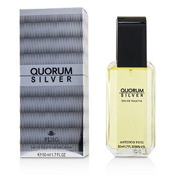 Puig Quorum Silver Eau De Toilette Spray 50ml/1.7oz
