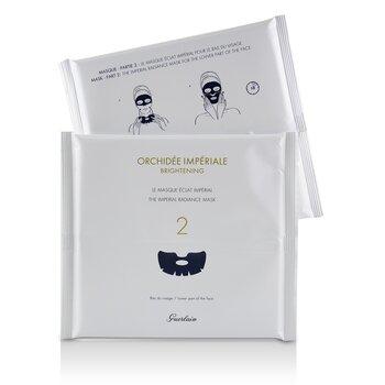Купить Orchidee Imperiale Exceptional Complete Care Маска для Сияния Кожи 4sheets, Guerlain