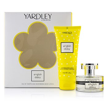 Yardley London Daisy Coffret: Eau De Toilette Spray 50ml/1.7oz + Moisturising Body Lotion 200ml/6.8oz 2pcs