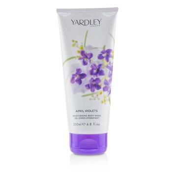Yardley London April Violets Moisturising Body Wash 200ml/6.8oz