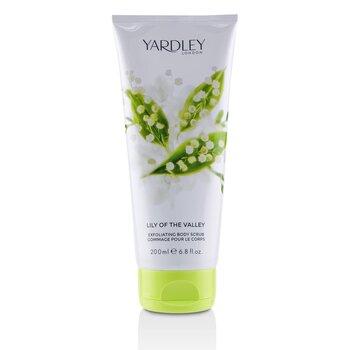 Yardley London Lily Of The Valley Exfoliating Body Scrub 200ml/6.8oz