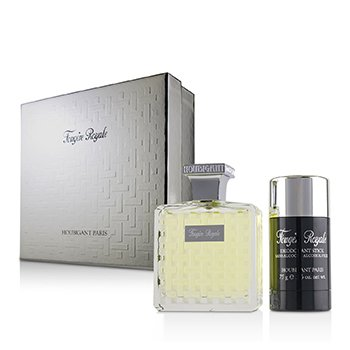 Houbigant Paris Fougere Royale Coffret: Eau De Parfum Spray 100m/3.3oz + Deodorant Stick 75g/2.6oz 2pcs