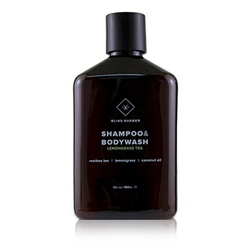 Blind Barber Lemongrass Tea Shampoo & Body Wash 350ml/12oz