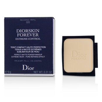 Купить Diorskin Forever Extreme Control Perfect Matte Пудровая Основа SPF 20 Запасной Блок - # 020 Light Beige 9g/0.31oz, Christian Dior