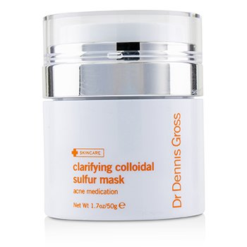 Clarifying Colloidal Sulfur Mask (Unboxed) Dr Dennis Gross Clarifying Colloidal Sulfur Mask (Unboxed) 50g/1.7oz