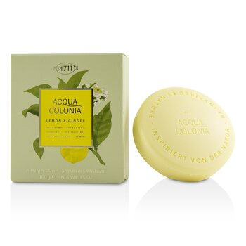 Image of 4711 Acqua Colonia Lemon & Ginger Aroma Soap 100g/3.5oz