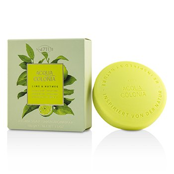 Image of 4711 Acqua Colonia Lime & Nutmeg Aroma Soap 100g/3.5oz