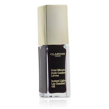 Купить Eclat Minute Instant Light Lip Comfort Oil - # 08 Blackberry 7ml/0.1oz, Clarins
