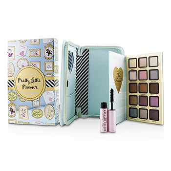 Too Faced Pretty Little Planner Best Year Ever 2018 : (15x Eyeshadow  1x Mascara) -