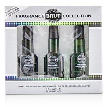 FABERGE | Faberge Brut Eau De Cologne Spray (Special Reserve Edition) 3x30ml/1oz | Goxip