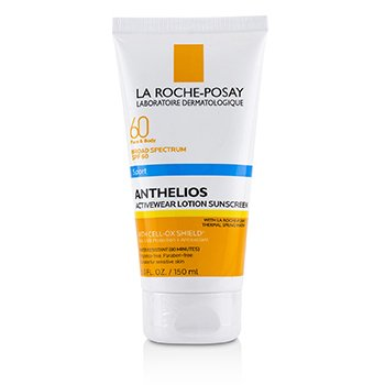 La Roche Posay Anthelios 60 Sport Activewear Lotion Sunscreen SPF 60 150ml/5oz