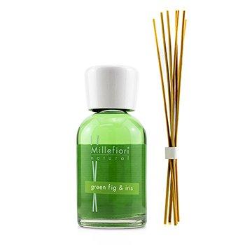 Купить Natural Ароматический Диффузор - Green Fig & Iris 250ml/8.45oz, Millefiori