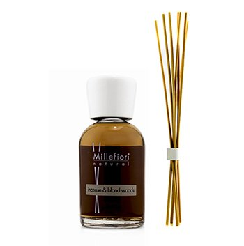 Millefiori Natural Fragrance Diffuser - Incense & Blond Woods 250ml/8.45oz