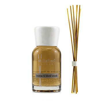 Millefiori Natural Fragrance Diffuser - Incense & Blond Woods 100ml/3.38oz