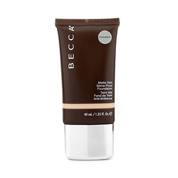 BECCA | Becca Matte Skin Shine Proof Foundation - # Porcelain (Unboxed) 40ml/1.35oz | Goxip