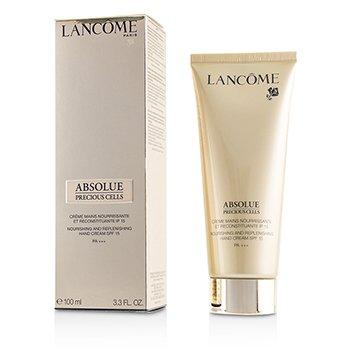 LancomeAbsolue Precious Cells Nourishing Replenishing Hand Cream SPF 15 PA 100ml 3.3oz