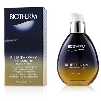 Biotherm Blue Therapy Serum-In-Oil Night - For All Skin Types 50ml/1.69oz