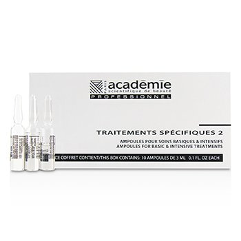 Image of Academie Specific Treatments 2 Ampoules Collagene Marin (Light Yellow) - Salon Product 10x3ml/0.1oz
