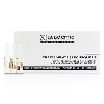 Image of Academie Specific Treatments 2 Ampoules Complexe Vitamine A&E (Oily Yellow) - Salon Product 10x3ml/0.1oz