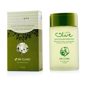 3W Clinic Olive For Man - Fresh Skin 150ml/5oz
