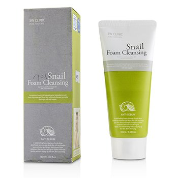 Image of 3W Clinic Snail Foam Cleansing 100ml/3.38oz