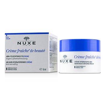 Купить Creme Fraiche De Beaute 48Ч Увлажняющий Крем - Для Нормальной Кожи 50ml/1.7oz, Nuxe