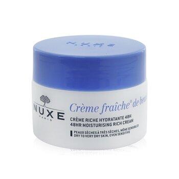 Купить Creme Fraiche De Beaute 48Ч Увлажняющий Насыщенный Крем - Для Сухой и Очень Сухой Кожи, также Чувствительной 50ml/1.7oz, Nuxe