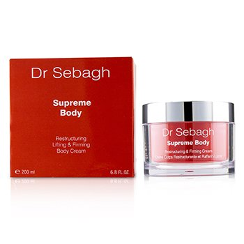 Dr. SebaghSupreme Restructuring, Lifting Firming Body Cream 200ml 6.8oz