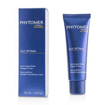 Купить Homme Age Optimal Разглаживающий Морщины Крем для Лица и Глаз 50ml/1.6oz, Phytomer
