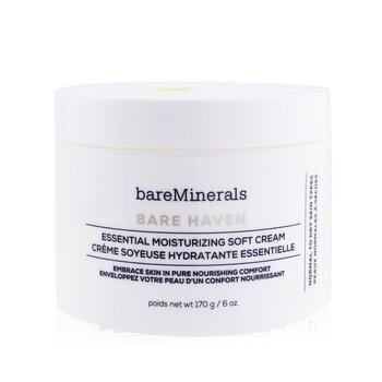 BareMinerals Bare Haven Essential Moisturizing Soft Cream - Normal To Dry Skin Types (Salon Size) 170g/6oz