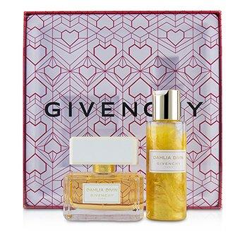 Givenchy Dahlia Divin Coffret: Eau De Parfum Spray 50ml/1.7oz + Perfuming & Moisturizing Dew 100ml/3.3oz 2pcs