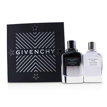 Купить Gentlemen Only Набор: Интенсивная Туалетная Вода Спрей 100мл/3.3унц + Лосьон после Бритья 100мл/3.3унц 2pcs, Givenchy