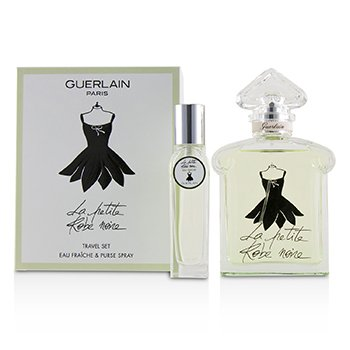 c0808e9b591 Guerlain La Petite Robe Noire Eau Fraiche (Ma Robe Petals) Coffret  Edt  Spray 100ml 3.3oz + Edt Purse Spray 15ml 0.5oz 2pcs