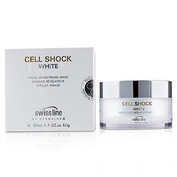 Купить Cell Shock White Осветляющая Маска для Лица 50ml/1.7oz, Swissline