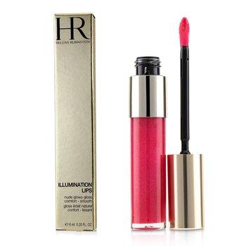 Купить Illumination Lips Nude Сияющий Блеск для Губ - # 04 Berry Pink Nude 6ml/0.2oz, Helena Rubinstein