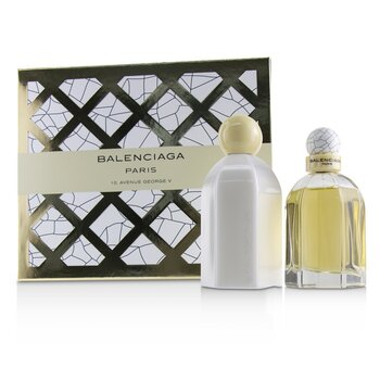 Balenciaga Balenciaga Coffret: Eau De Parfum Spray 75ml/2.5oz + Body Lotion 200ml/6.7oz 2pcs